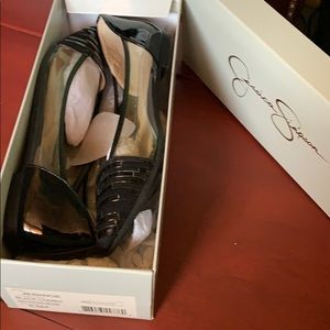 Brand new pointy flats